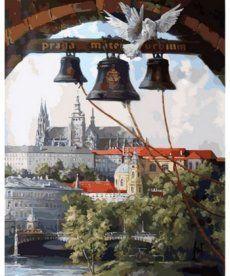 Картина по номерам Колокола Праги 40 х 50 см (NB865)