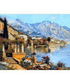 Картина по номерам Прекрасная Италия 40 х 50 см (NB869)