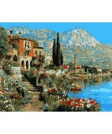 Картина по номерам Очарование Италии 40 х 50 см (NB871)