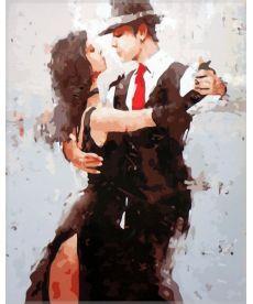 Картина по номерам Танец страсти 40 х 50 см (SW028)