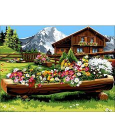 Картина по номерам Спокойствие и уют 30 х 40 см (VK063)