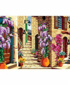 Картина по номерам Старинная лестница 30 х 40 см (VK069)