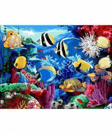 Картина по номерам Коралловый риф 30 х 40 см (VK190)