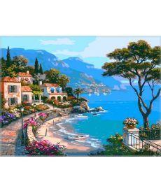 Картина по номерам Райский уголок 40 х 50 см (VP003)