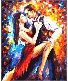 Картина по номерам Танго в Париже 40 х 50 см (VP083)