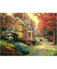 Картина по номерам Осенние краски 40 х 50 см (VP154)