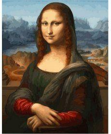 Картина по номерам Монна Лиза 40 х 50 см (VP548)