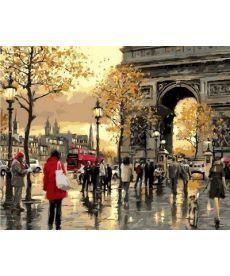 Картина по номерам Вечерний Лондон 40 х 50 см (VP556)