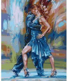 Картина по номерам Страстное танго 40 х 50 см (VP565)