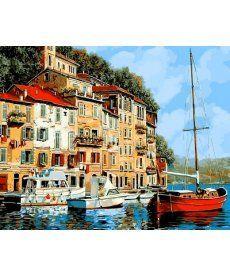 Картина по номерам Средиземноморье 40 х 50 см (VP645)