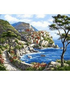 Картина по номерам Райский уголок 40 х 50 см (VP672)