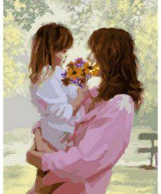 Картина по номерам Букет для мамы 40 х 50 см (VP778)