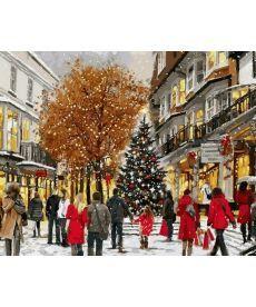 Картина по номерам Дух Рождества 40 х 50 см (VP782)