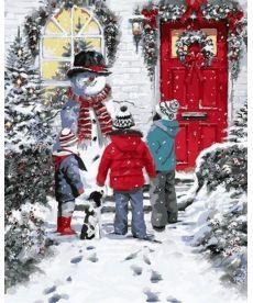 Картина по номерам Рождественская сказка 40 х 50 см (VP783)