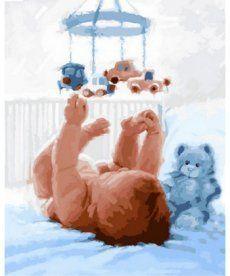 Картина по номерам Малыш 40 х 50 см (VP838)