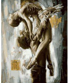 Картина по номерам Идеальный танец 40 х 50 см (VP896)