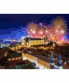 Картина по номерам Замок Вавель. Польша 40 х 50 см (VP937)