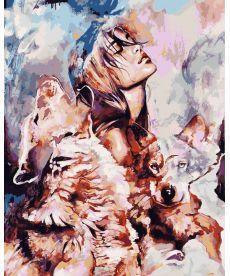 Картина по номерам Волчья стая 40 х 50 см (VP977)