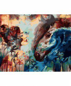 Картина по номерам Брызги океана 40 х 50 см (VP978)