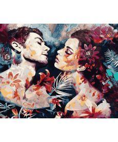 Картина по номерам Огненная страсть 40 х 50 см (VP982)
