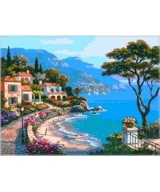 Картина по номерам Райский уголок 50 х 65 см (VPS003)