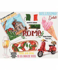 Картина по номерам Краски Рима 40 х 50 см (KH5529)
