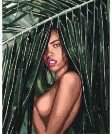 Картина по номерам Тропиканка 40 х 50 см (KHO4507)
