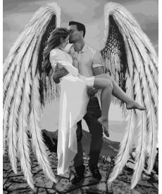 Картина по номерам Мой ангел 40 х 50 см (KHO4511)