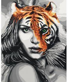 Картина по номерам Душа тигра 40 х 50 см (KH4518)