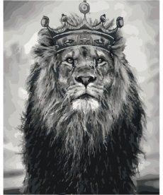 Картина по номерам Король Лев 40 х 50 см (KHO4079)