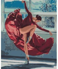 Картина по номерам Танец в лучах солнца 40 х 50 см (KHO4512)