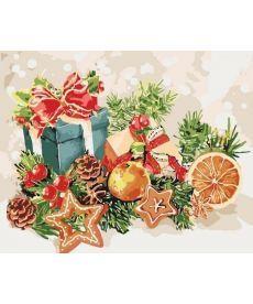 Картина по номерам Дух Рождества 40 х 50 см (KHO5535)