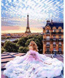 Картина по номерам Парижские мечты 40 х 50 см (VP1013)