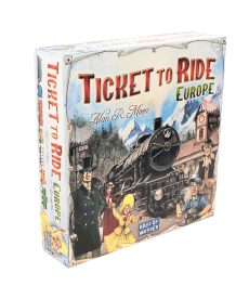Настольная игра Ticket to Ride: Европа (3-е рус. изд.)