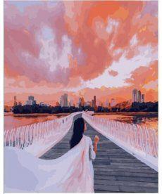 Картина по номерам Город Шарджа  40 х 50 см (PGX25405)