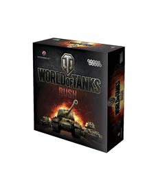 Настольная игра World of Tanks Rush (2-е рус. изд.)