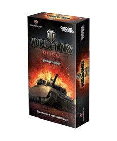 Настольная игра World of Tanks Rush. Второй Фронт (2-е рус. изд.)