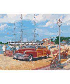 Картина по номерам Портовый городок 40 х 50 см (AS0365)