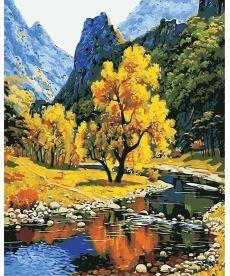 Картина по номерам Осень в горах 40 х 50 см (AS0384)