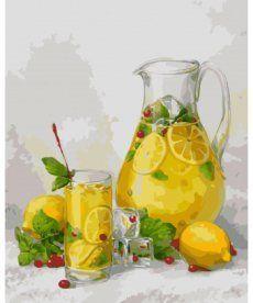 Картина по номерам Лимонад 40 х 50 см (AS0468)