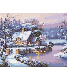 Картина по номерам Сказочная зима 40 х 50 см (KHO2248)