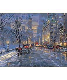 Картина по номерам Краски ночного города 40 х 50 см (KHO3537)