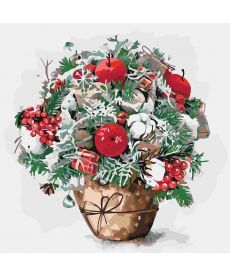 Картина по номерам Яблочный вкус 40 х 40 см (KHO3026)