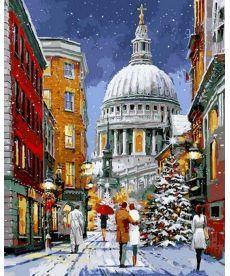 Картина по номерам Рождественская прогулка 40 х 50 см (VP1069)