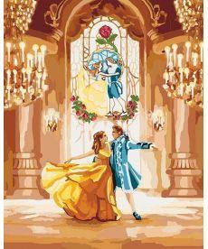 Картина по номерам Красавица и чудовище Танец 40 х 50 см (KHO4536)