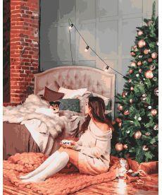 Картина по номерам Новогодний уют 40 х 50 см (BK-GX26268)