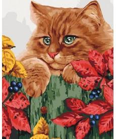 Картина по номерам Рыжее счастье 40 х 50 см (KHO4091)