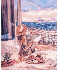 Картина по номерам Очарование Парижа 40 х 50 см (KHO4544)
