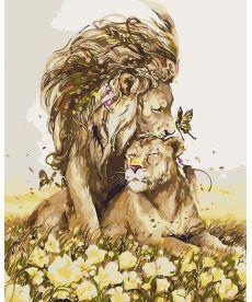 Картина по номерам Романтичные чувства 40 х 50 см (KH4100)