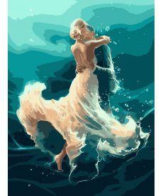 Картина по номерам На волне танца 40 х 50 см (KHO4566)